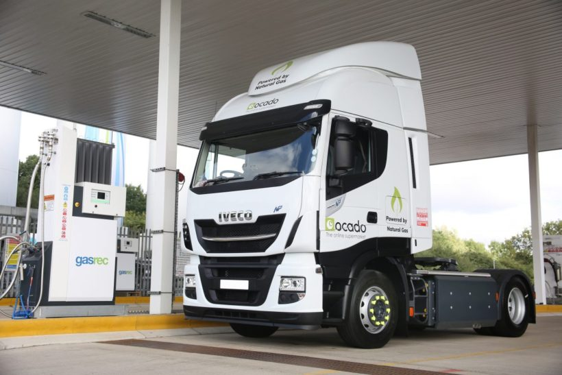 Ocado plans to open natural gas refuelling station