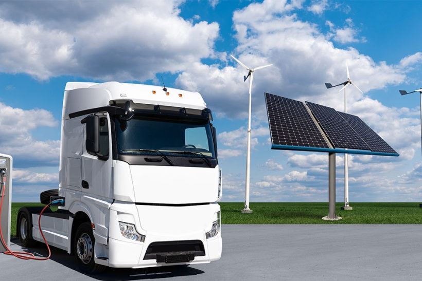 New electric truck developments announced for the UK