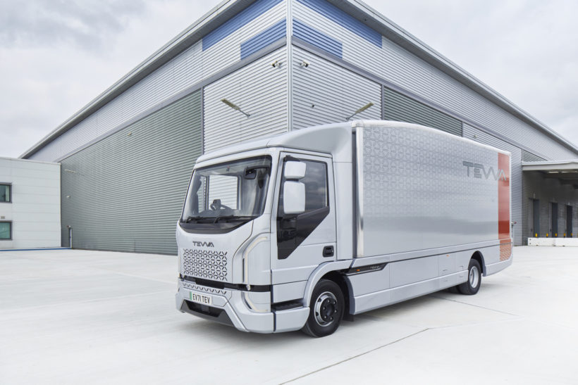 Funding secured for Tevva's long-range electric truck project