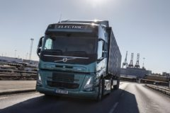 Volvo talks about the transition to electric trucks